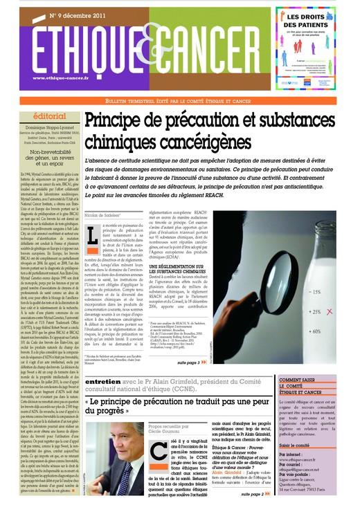 Bulletin n°9